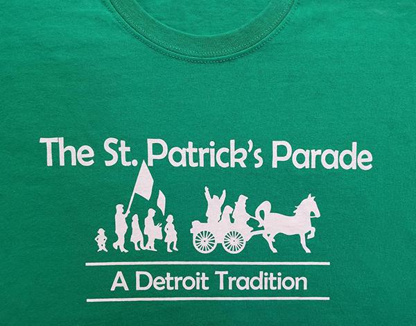 2019 Detroit St. Patrick's Parade T-Shirt